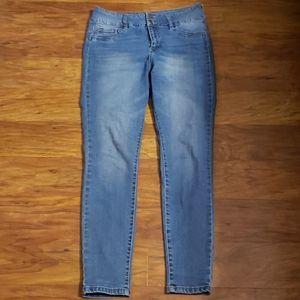 Tummy control skinny jeans